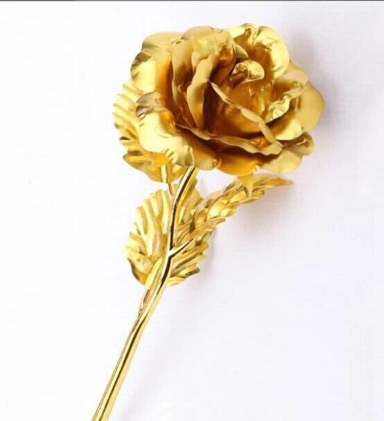 Златна роза 24 К