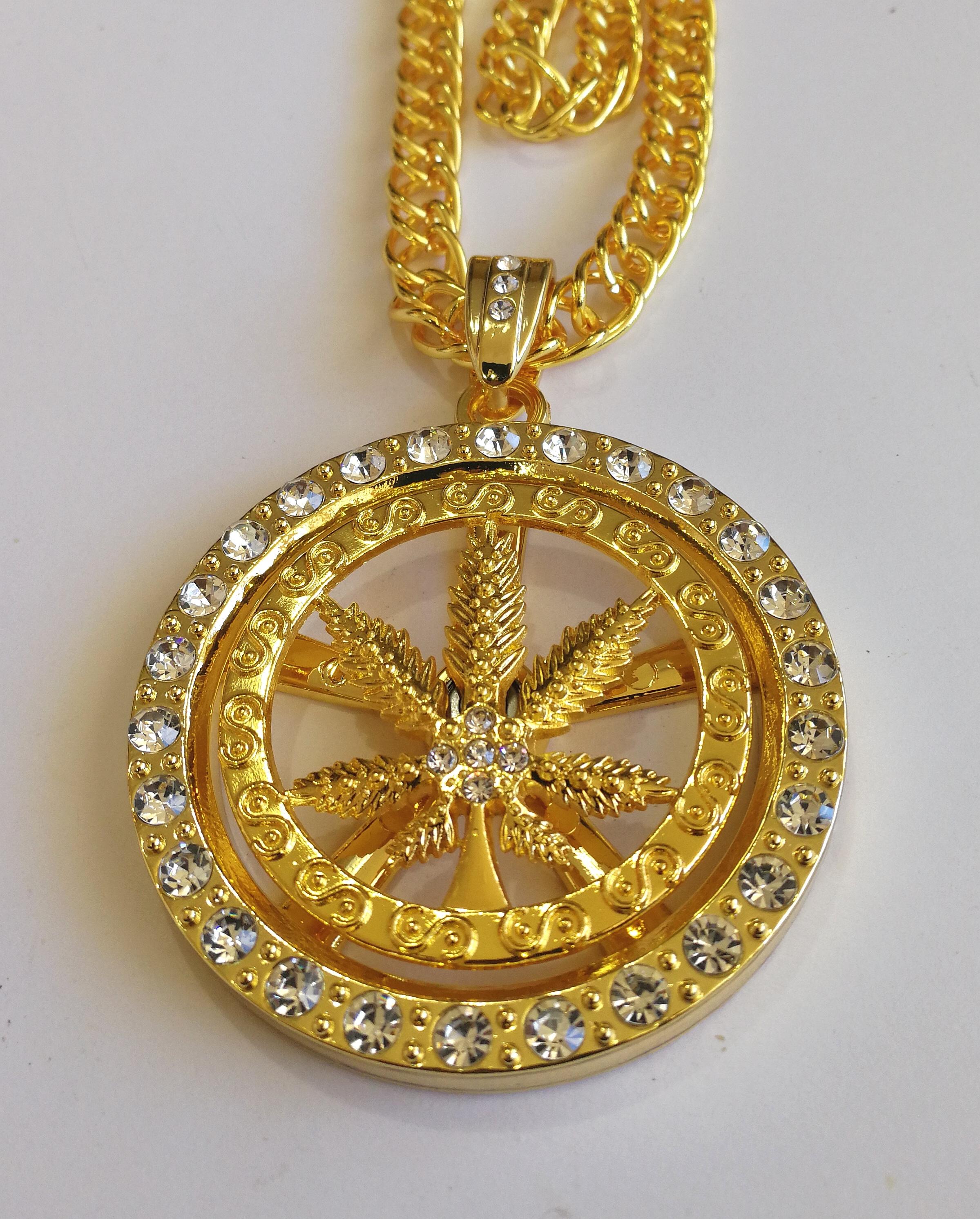 """Дълъг медальон """"Утопия"""" – 01"""