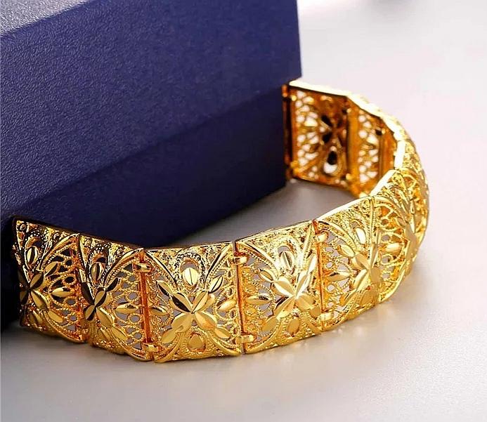 "Луксозна гривна ""Златно сияние"""