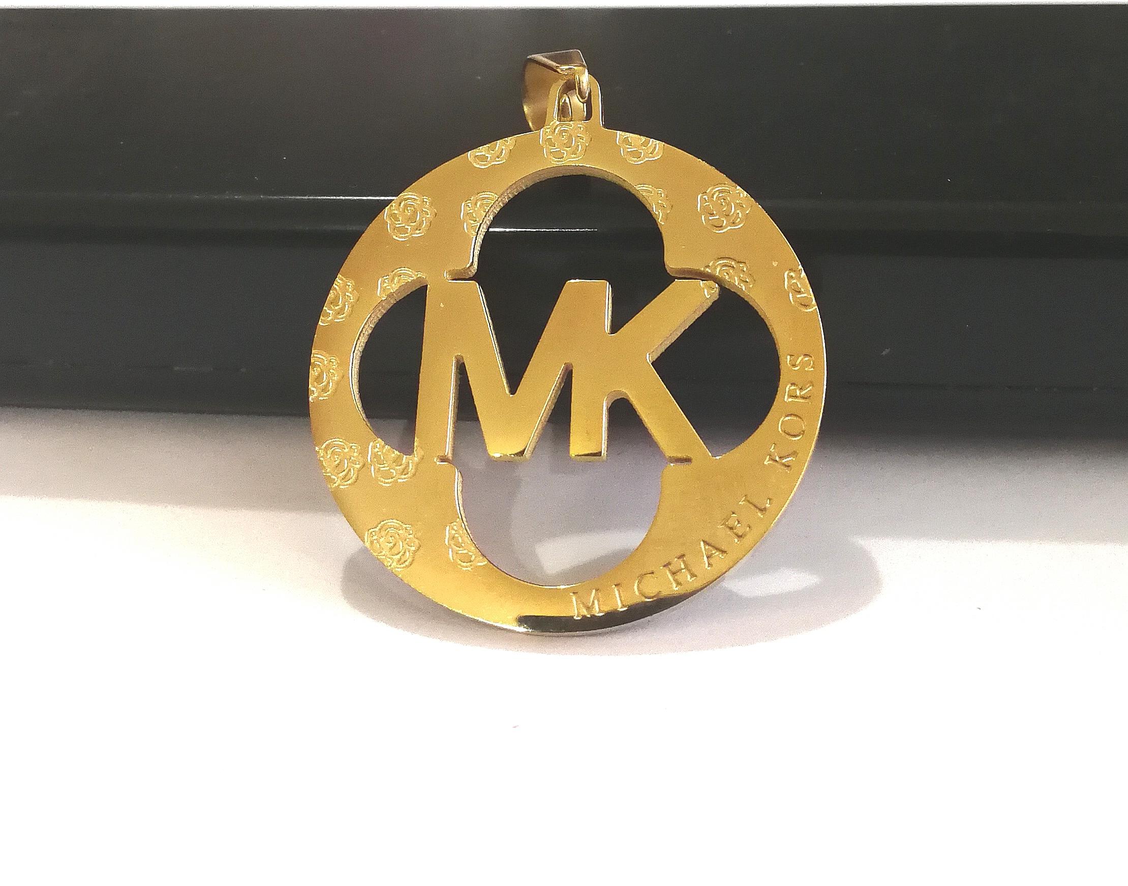 "Медальон от стомана ""MISHAEL KORS"""