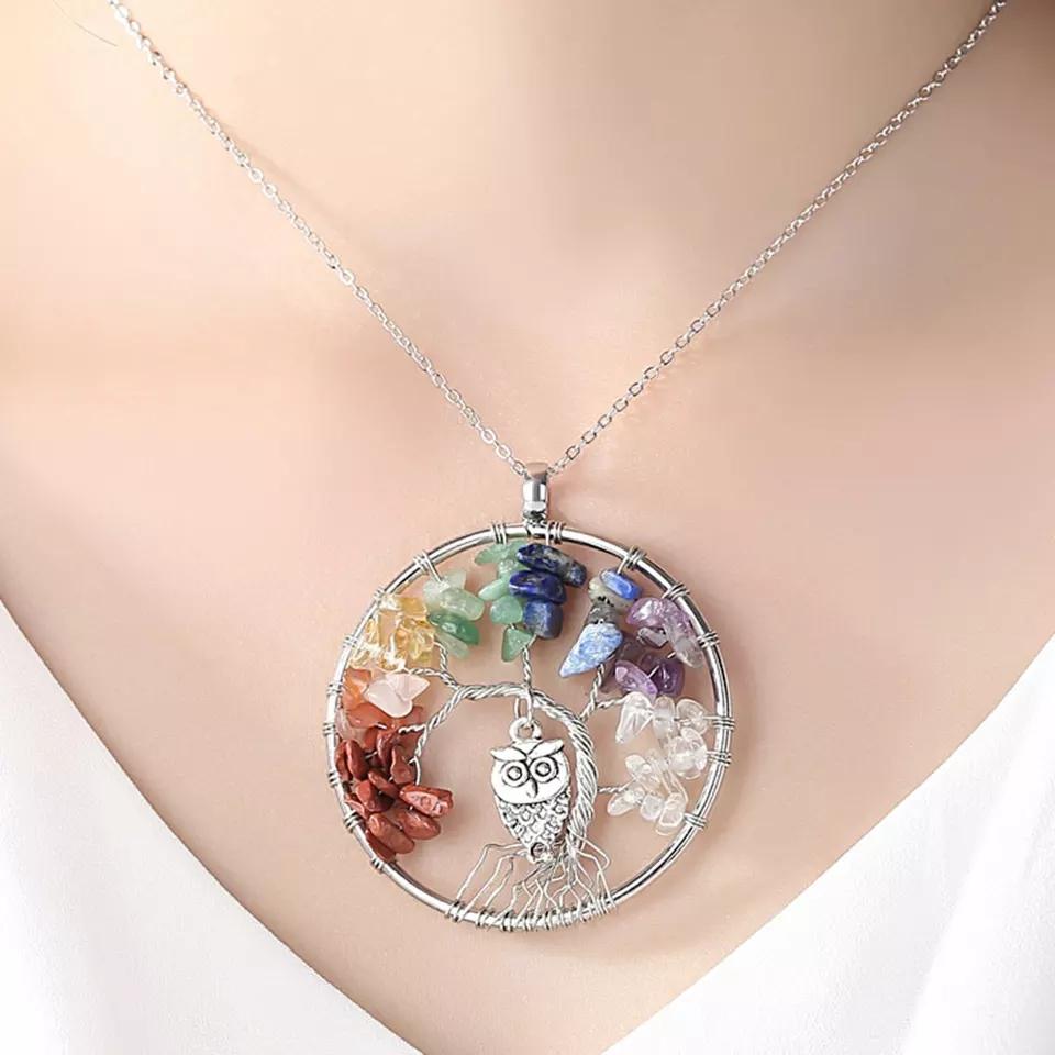 """Медальон """"Седемте чакри"""" – 05"""