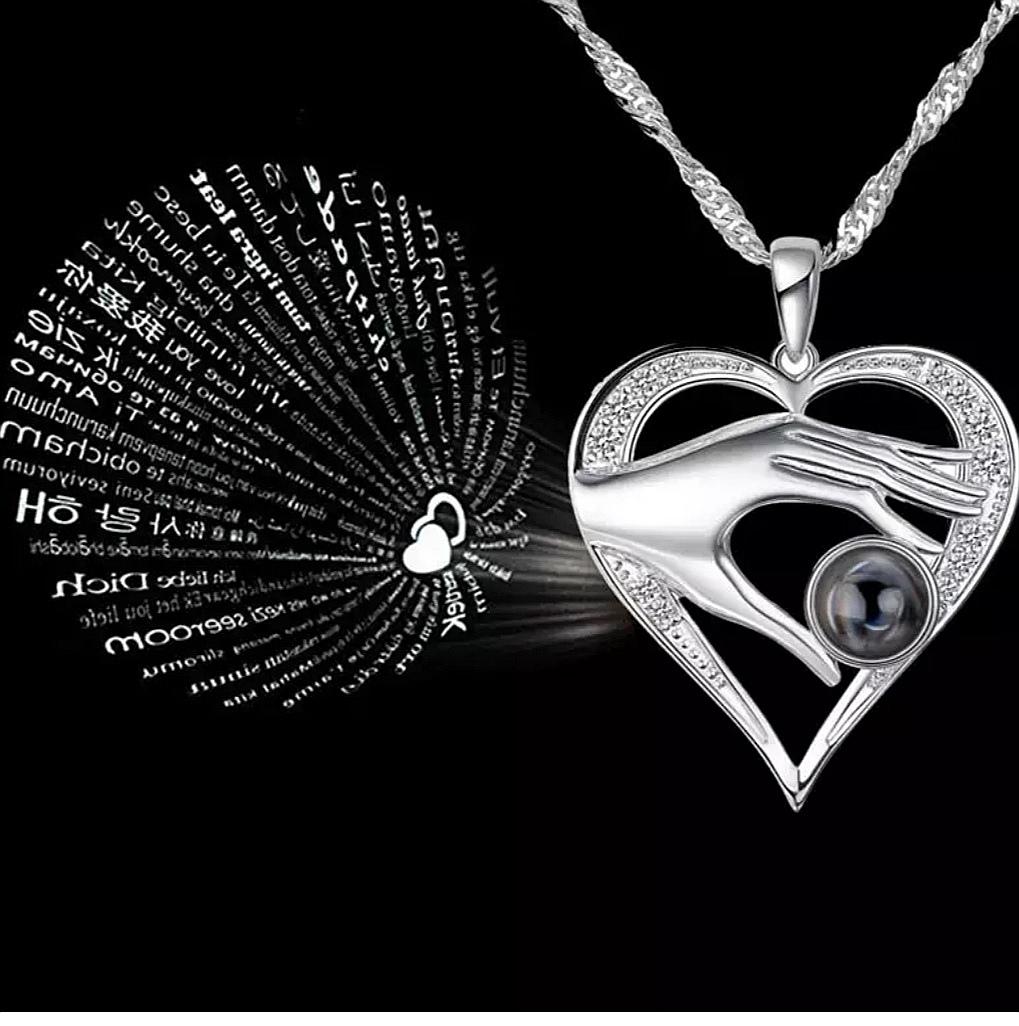"""Медальон """"LOVE"""" на 100 езика – 04"""