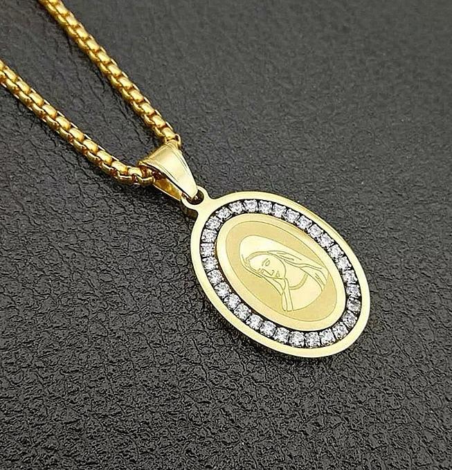 "Медальон от стомана ""Света Дева"""